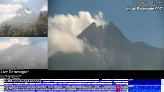 13/6/2019 - Mt Merapi TimeLapse