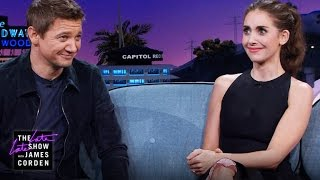 Jeremy Renner & Alison Brie on Bachelorette Parties