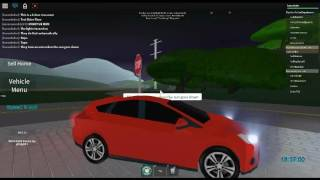 ROBLOX | Pacifico | 2014 Ford Focus | Test Drive