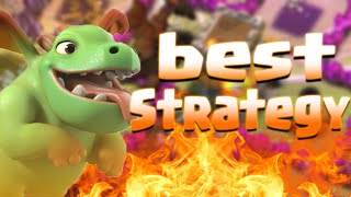 BABY DRAGONS+DRAGONS ATTACK STRATEGY-Clash Of Clans