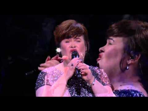 Susan Boyle on Joel Osteen: 'Miracle Hymn' song & The Christmas Candle Story (17 Nov 13), 1st Show