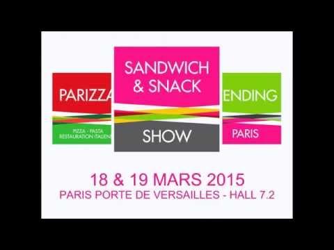 Corinne Menegaux introduce the Sandwich & Snack Show 2015!