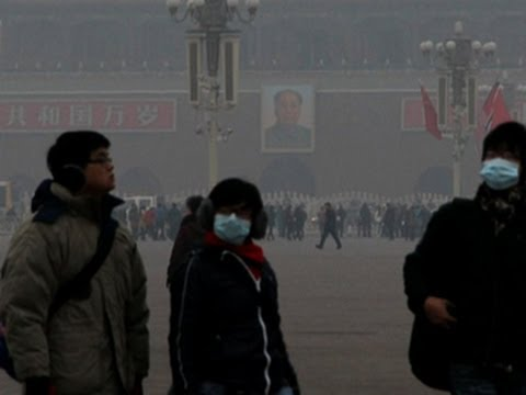 China's government vows to address smog