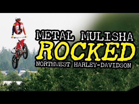 Metal Mulisha FMX Show At Northwest Harley-Davidson | Washington State | Motorcycle Jumping