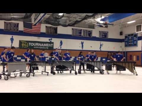 Metuchen High School Percussion Ensemble 2016-2-27
