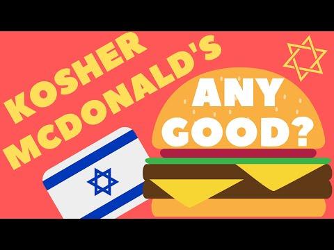 European Tourist Tries Kosher And Non Kosher McDonalds In Israel