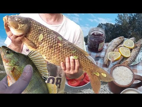Супер Рыбалка в 100м. от Квартиры Горячий Ключ. Места Отдыха Ловля Рыбы. Переезд Горячий Ключ