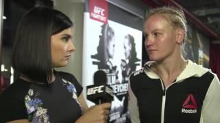 Fight Night Chicago: Valentina Shevchenko Backstage Interview