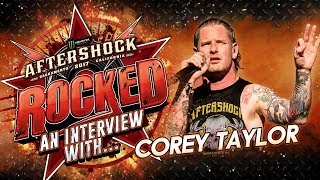 COREY TAYLOR talks Donald Trump, Richard Spencer, America 51 & more at Aftershock 2017