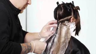 Техника окрашивания Ореховый Омбре - пошаговое видео от Matrix | Haircolor.org.ua