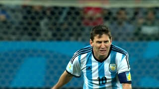 Lionel Messi vs Netherlands (World Cup 2014) HD 1080i