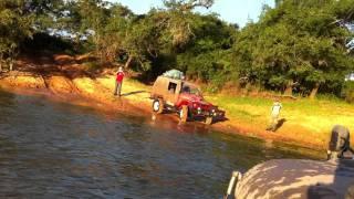 Travessia Ilha do Bananal 2011 - Rio Javaé voltando