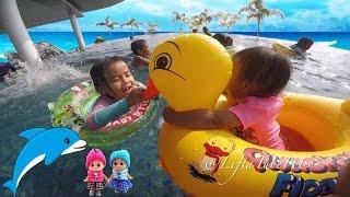 Baby Bath Swimming Pool - Pelampung Bebek Mainan Anak Berenang di Kolam Renang