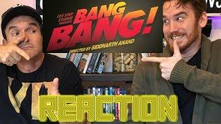 BANG BANG! Trailer REACTION - Hrithik Roshan & Katrina Kaif