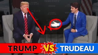 ALPHA BATTLE Between TRUMP and TRUDEAU at the G-7 (Who Do You Think Won?)