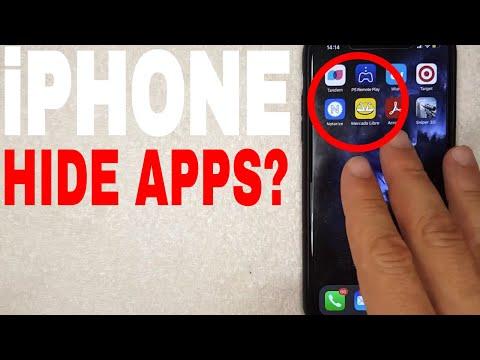 Cara Menyembunyikan Aplikasi di Iphone iOS 13 - Hide Apps on Iphone Ganti background keyboard iphone.