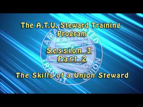 Introductory Shop Stewards Videos - Session 3 / Part 2