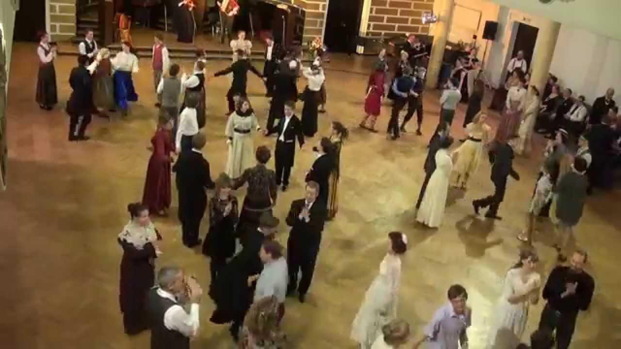 """00703 Folkloras mūzikas un deju kopas DANDARI 35 g. jubilejas """"kadriļu balle"""". Brička"""