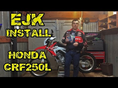 EJK Fuel Controller Install Honda CRF250L Dual Sport Electronic Jet Kit Installation Review