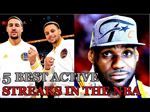 5 of the Best ACTIVE STREAKS IN THE NBA!