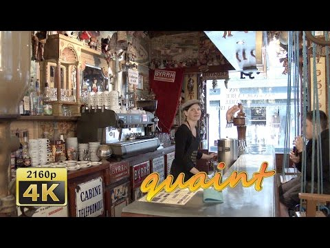 Le Cafe, Saint Malo, Brittany - France 4K Travel Channel
