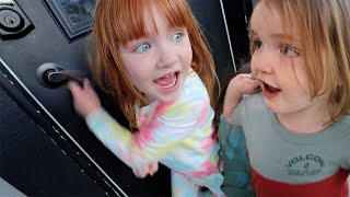 Exploring a NEW HOUSE!! mini Vacation with the Family! Adley &amp Niko find indoor slides &amp room switch