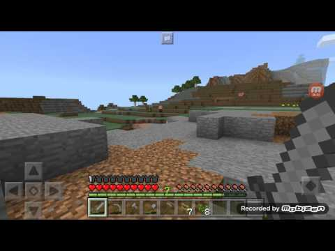 Minecraft pe survival indonesia part 7 mencari IRON ORE