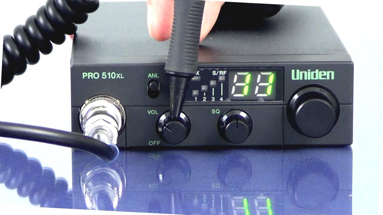 Uniden Pro 510xl Mic Wiring Diagram Cb Radio Microphone Pro510xl Youtubedesign