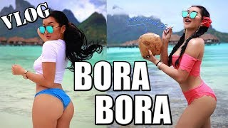 Adventures In Bora Bora || Trippin With Tarte! Private Jet, Swimming With Sharks