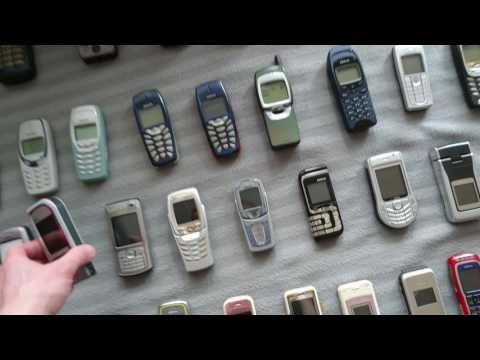 Old Phones collection
