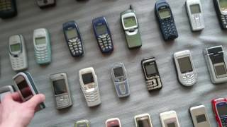 Old Phones collection | playertube - Youtube Auto Search Videos