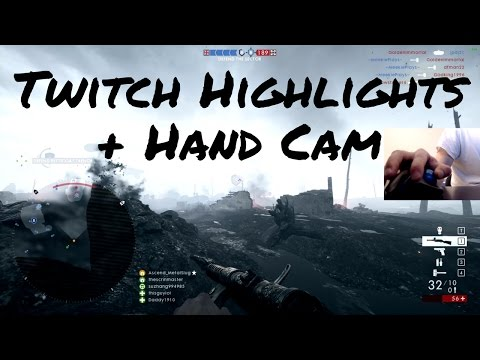 Battlefield 1 | Twitch Highlights #9 | Logitech M570 Trackball Mouse