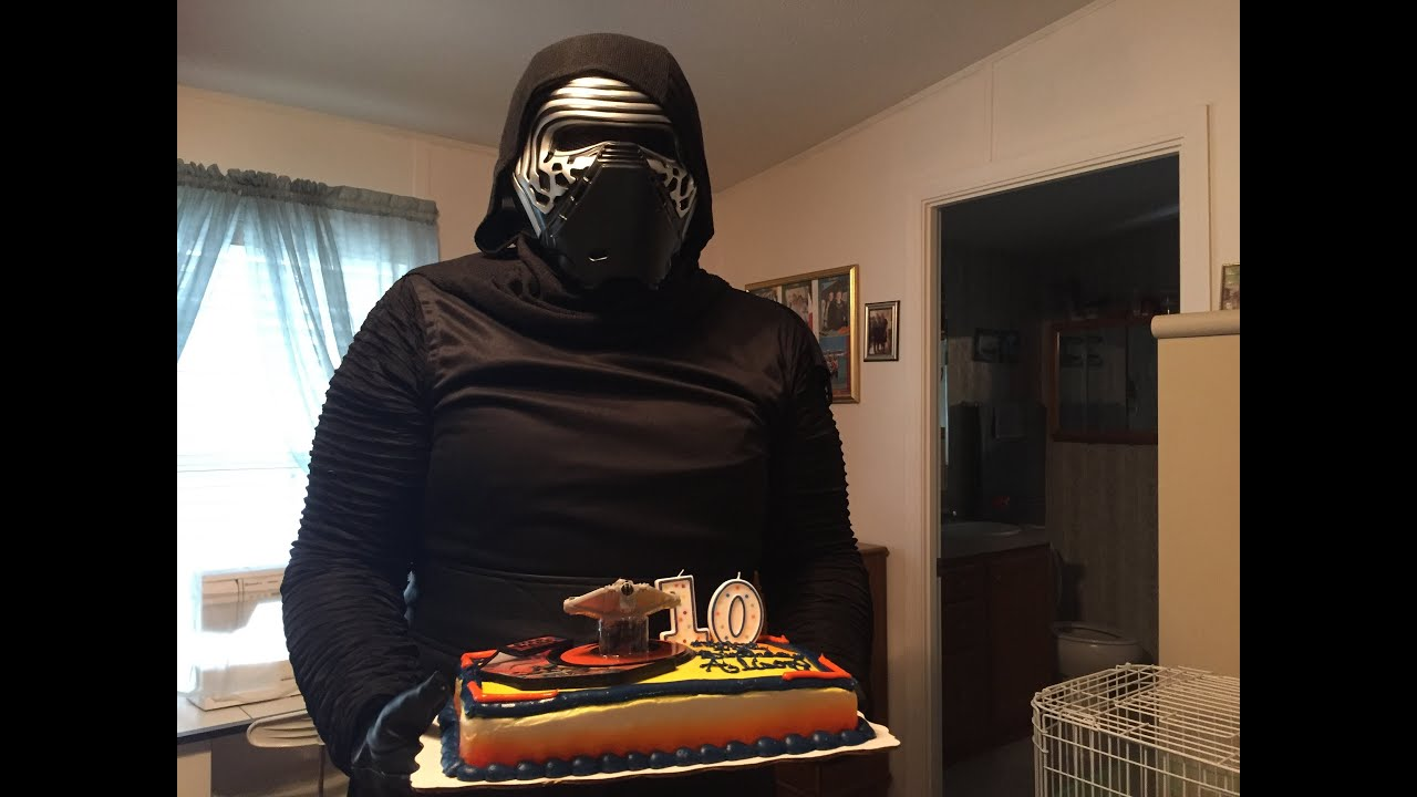 Epic Star Wars Birthday Party For A Year Old Girl Youtube