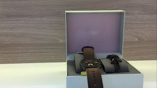 Review đồng hồ Fossil nam FS5251SET