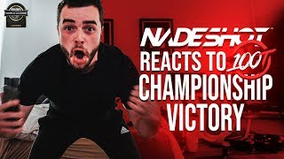 NADESHOT REACTS TO FIRST 100 THIEVES CHAMPIONSHIP!