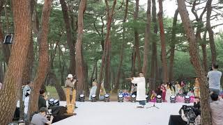 하회전통문화예술제 대금연주 공연