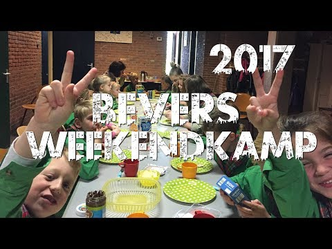 2017 - Bevers 1e overnachting