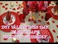 💎CREATIVE GLAM💎 DIY Valentine's Day Tablescape 📷   (Budget Friendly)