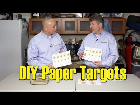 S4 - 09 - DIY Paper Targets