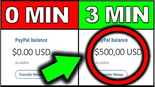 Make $25-$500 in 3 Mins! (EASY Way To Make Money Online)