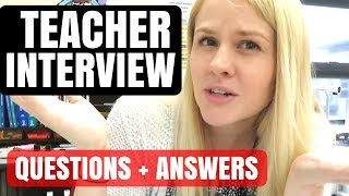 ULTIMATE Teacher Interview Questions And Answers Guide