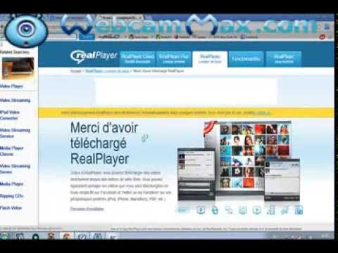 realplayer pour enregistrer les video sur youtube