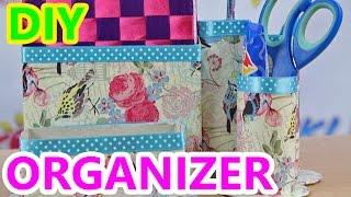 DIY - Kreatywne Czwartki - Jak wykonać Organizer na Biurko? / How to make Desk Organizer?