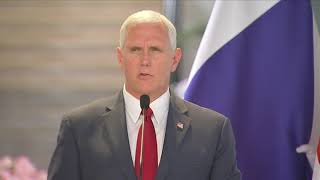 Pence: U.S. and allies will drive the 'evil of radical islamic terror from the face of the earth'