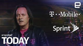 T-Mobile و Sprint دمج لإنشاء 5G قوة   التقنية بلا حدود اليوم