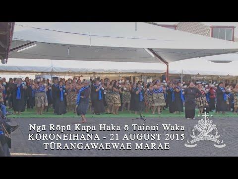 Ngā Rōpū Kapa Haka ō Tainui Waka - Koroneihana 2015