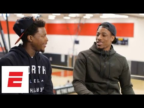 [FULL] DeMar DeRozan and Kyle Lowry exclusive interview with Rachel Nichols | ESPN