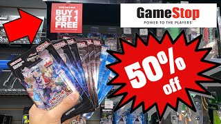 Gamestop Buy 1 Get 1 Free Deals!!! Holidays 50% Off Sale | Giveaway | 13 Yu-gi-oh! Packs Opening