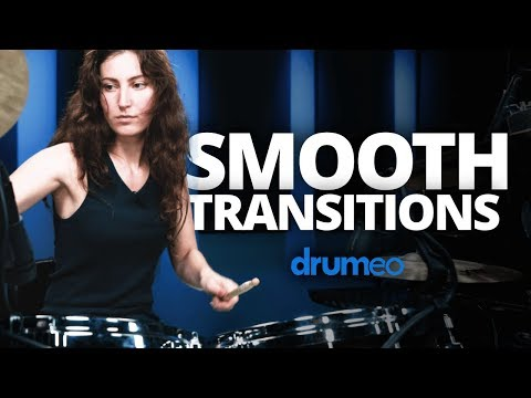 Julia Geaman: Smooth Transitions On The Drums (FULL DRUM LESSON)