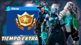 NEW EXTRA TIME CHALLENGES PASS 9 FREE? FORTNITE Battle Royale